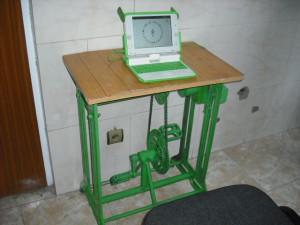 Pédalo pour XO - OLPC Afghanistan