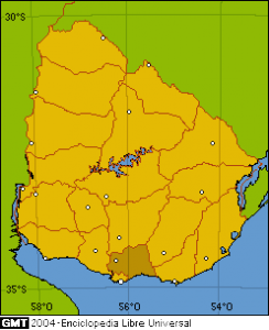 Location_department_Canelones(Uruguay)