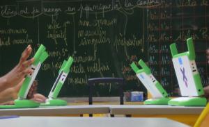 Le XO dans la classe à Saint-Denis