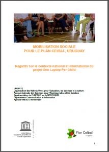 Mobilisation sociale pour le plan Ceibal