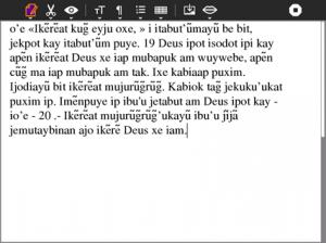 Ecrire en Mundurucu