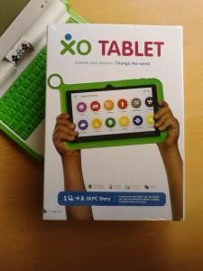 La boite de la XO Tablet