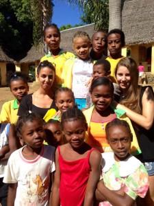 Jessica de l'équipe G du coeur et les enfants