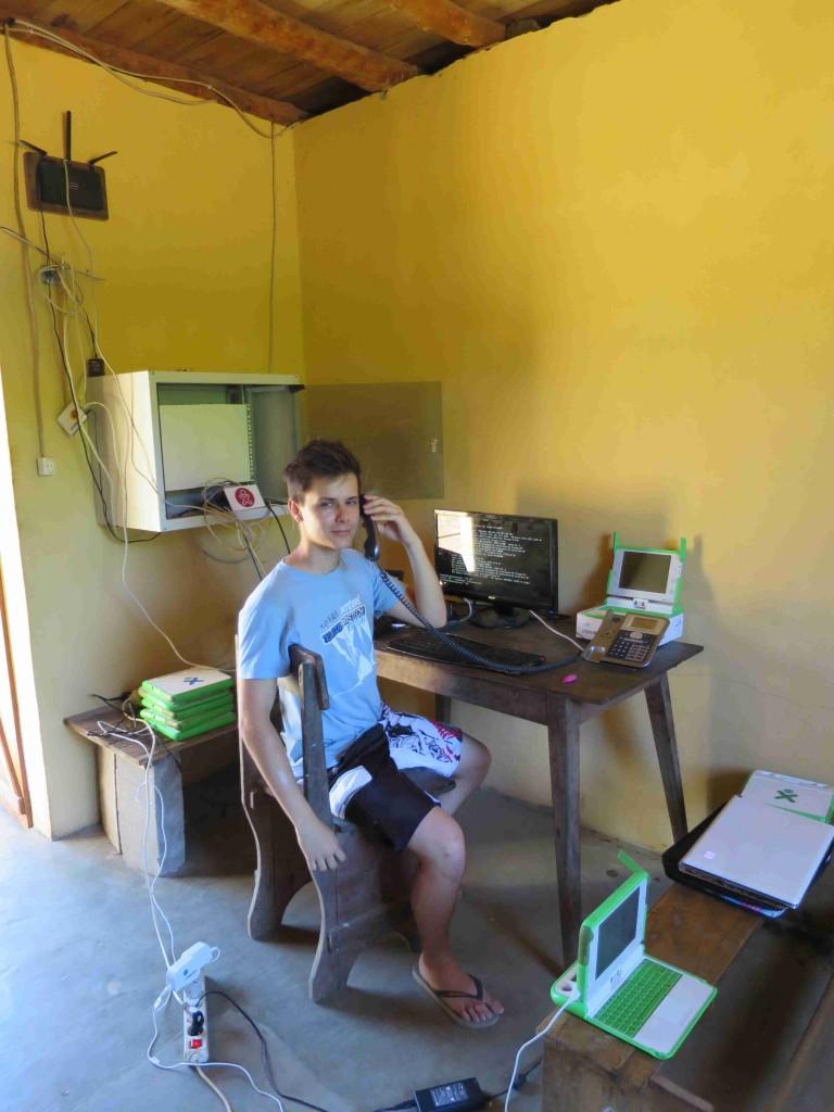 Test de la téléphonie IP